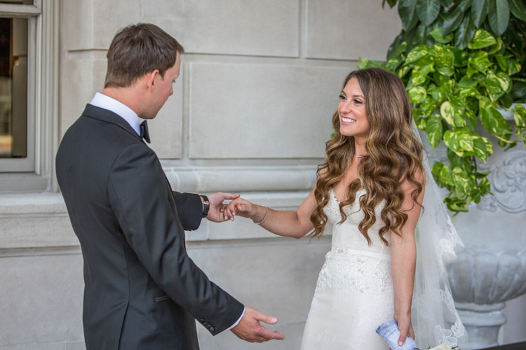 Wedding photography at the Detroit Athletic Club - DAC. 03