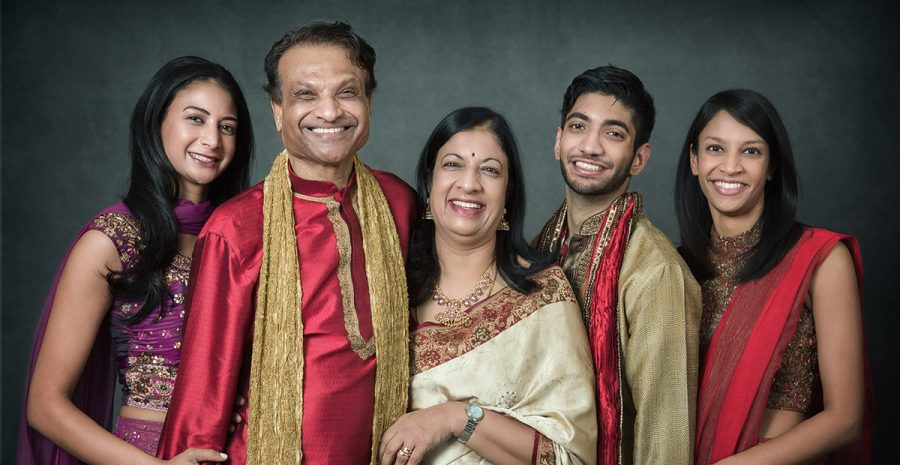Indian family photo - 1200px wide.