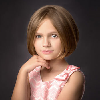 Portrait of a beautiful young girl. Hugh Anderson Photography