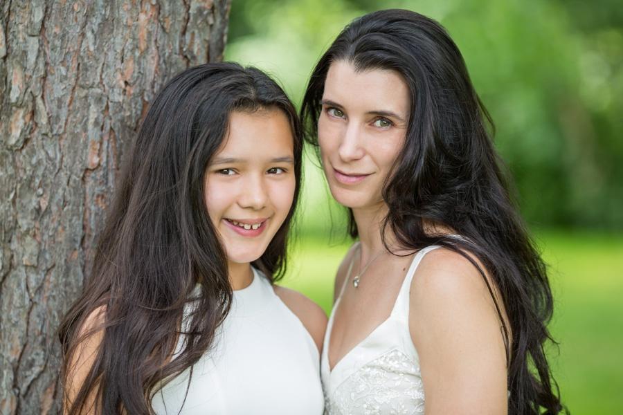 Michelle and Estella family portrait - 11