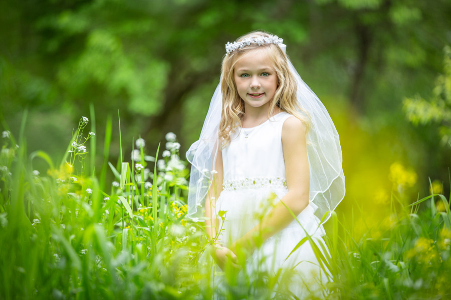 First communion photo - Hugh Anderson Photography-05
