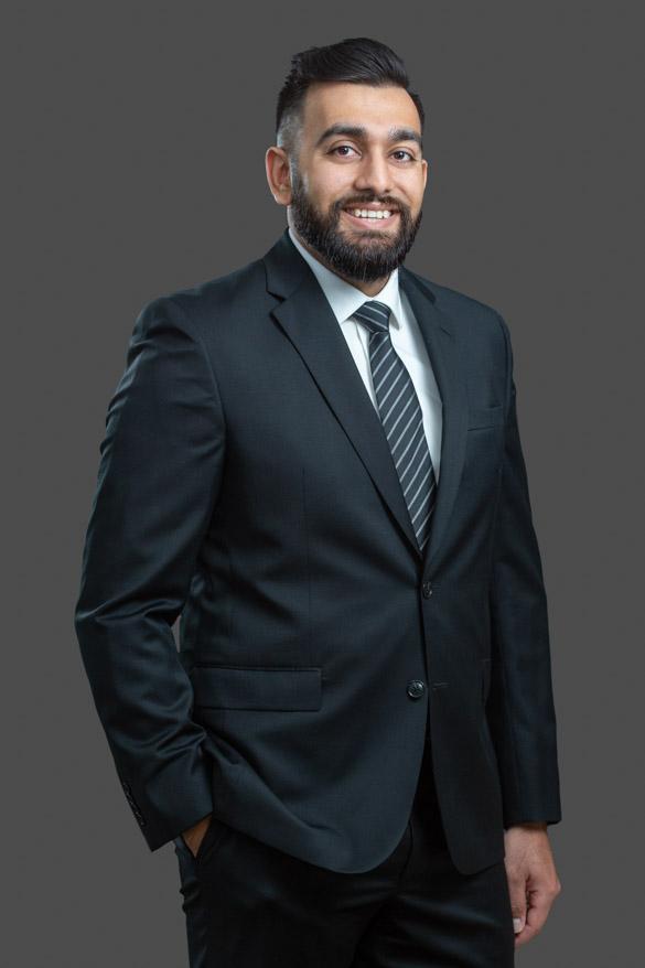Headshot of corporate executive. Bloomfield Hills, Michigan